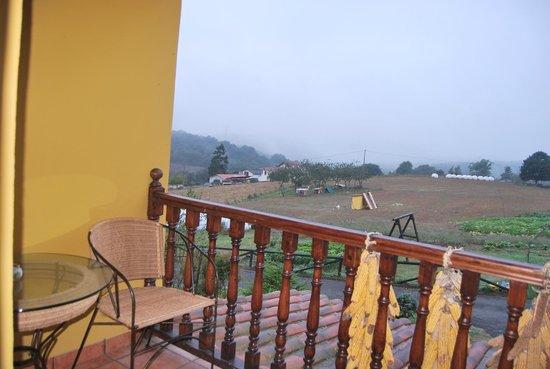 L'Espantayu: Pequeña terraza