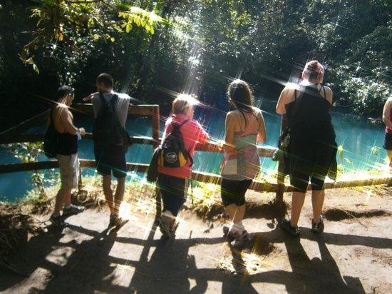 Cabinas Piuri: Laguna Azul de Rio Celeste