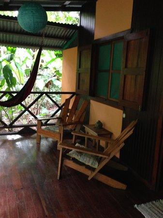 Cabinas Punta Uva : Terrasse