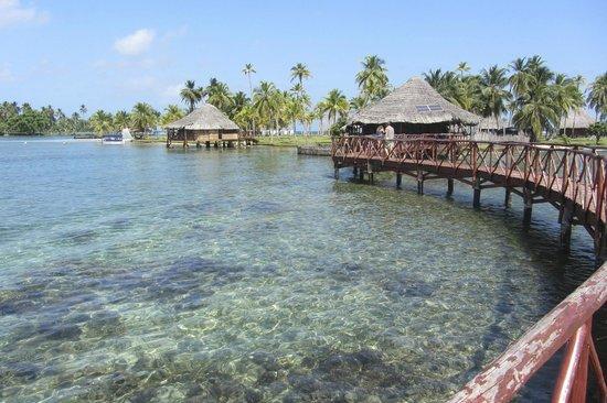 Yandup Island Lodge : View from hammock lounge