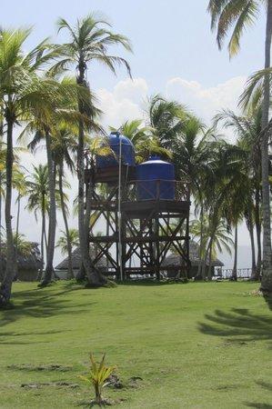 Yandup Island Lodge : Water cisterns