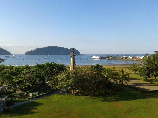 Los Suenos Marriott Ocean & Golf Resort: Primeras horas de la mañana desde la habitación