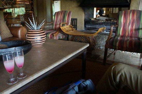 Kapama River Lodge: reception
