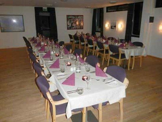 Highland Hotel: dinning room