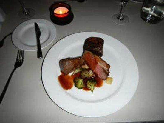 Highland Hotel: main course
