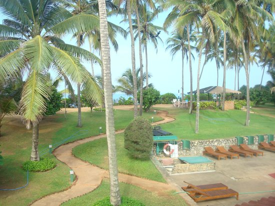 Palm Village Hotel : View from our balcony