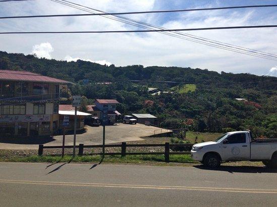 Casa Tranquilo Hostel: Blick vom Balkon