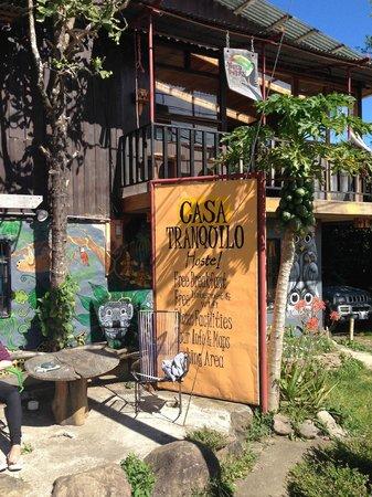 Casa Tranquilo Hostel: Eingang