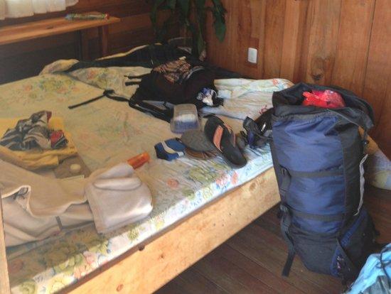 Casa Tranquilo Hostel: Doppelbett