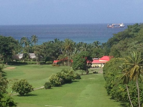 Sandals Regency La Toc Golf Resort and Spa: Golf course. View from the 8th green.