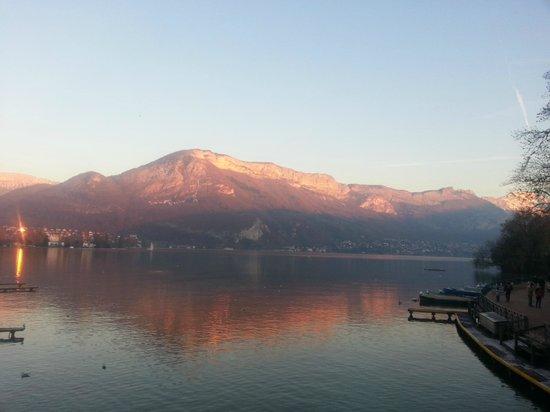 Annecy Aventure : lago di Annecy