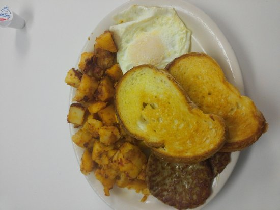Becky's Diner : This is from Guidis this morning.
