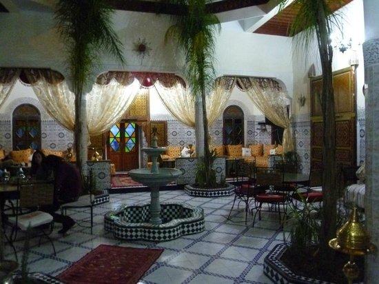Riad Chennaoui: sala principale