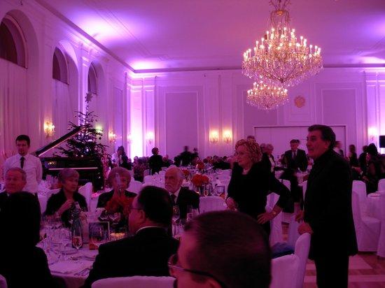Kursalon Wien - Sound of Vienna: salone della cena di gala