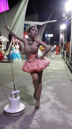 Aphrodite Cabaret Show: Она же.