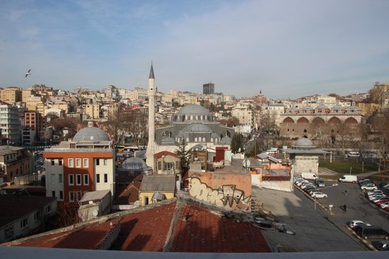Karakoy Port Hotel: View from the room