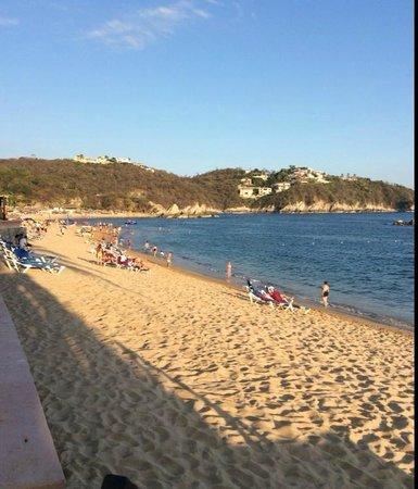 Barcelo Huatulco: Beautiful beach