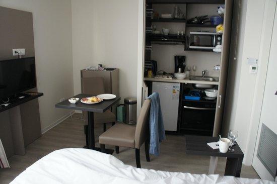 Appart'hôtel Odalys Green Marsh : номер