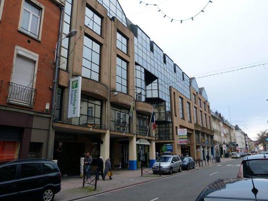 Holiday Inn Express Lille Centre : Rue Léon Gambetta