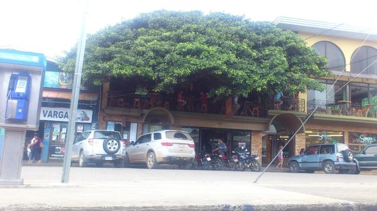 Tree House Restaurante & Cafe: view from the street