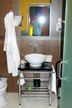Internacional Design Hotel : Раковина