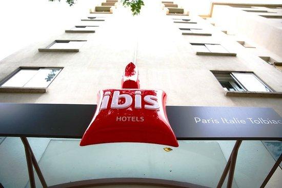 Ibis Paris Italie Tolbiac : Extèrieur