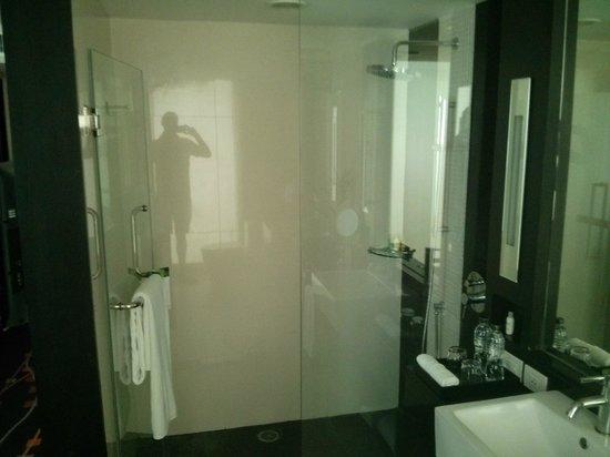 Radisson Suites Bangkok Sukhumvit : Walk in shower