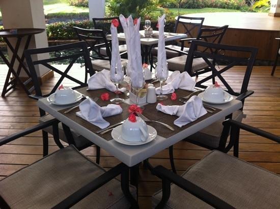 The Royal Suites Turquesa by Palladium : Otra decoracion en el restaurante Gourmet.