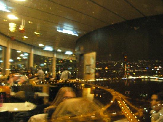 Donauturm: vista dal ristorante