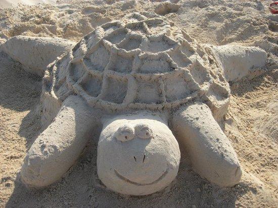 VIK Hotel Cayena Beach: Beach Sculpture