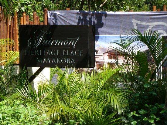 Fairmont Mayakoba: Nueva área en construcción