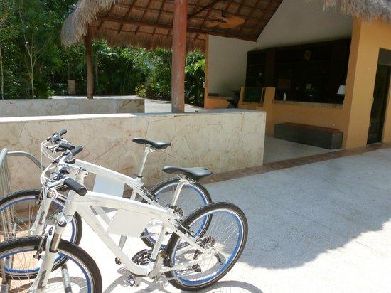 Fairmont Mayakoba: Zona de bicicletas