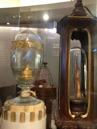 Museo Galileo - Institute and Museum of the History of Science: Relíquias