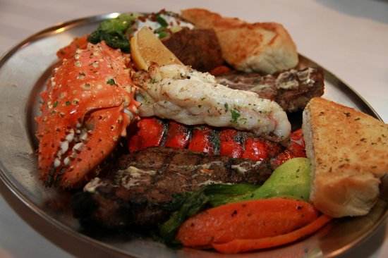 Cornerstone Bar & Grill : Meal