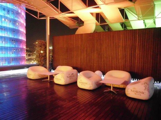 Silken Diagonal Barcelona: Chill out