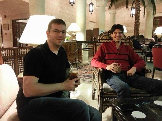 Movenpick Resort Petra : In the atrium