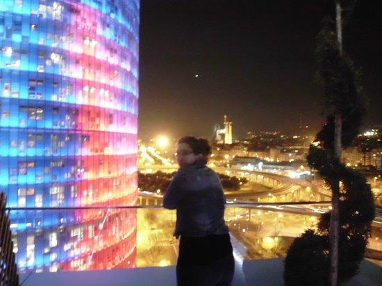 Silken Diagonal Barcelona: vistas