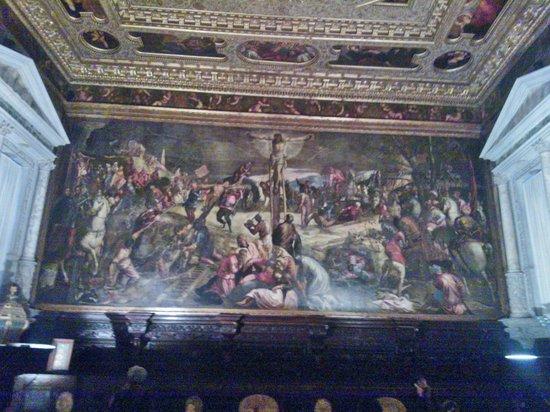 Scuola Grande di San Rocco: Crocifissione del Tintoretto