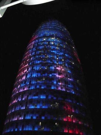 Silken Diagonal Barcelona: la torre Agbar