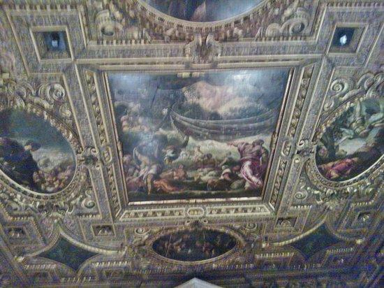 Scuola Grande di San Rocco : Soffitto, sala maggiore