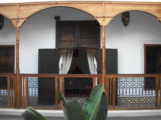 Riad Smara: porte de la chambre