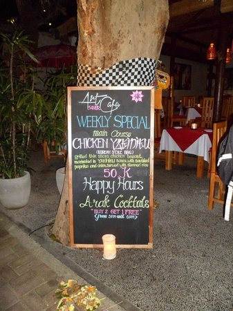 Art Cafe Sanur: A Must Visit in Sanur