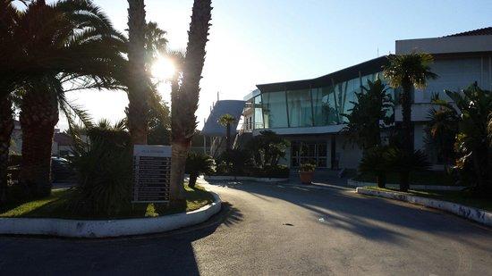 Villa Orchidea: Ingresso