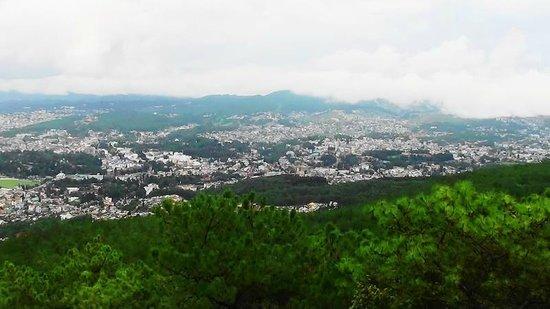 Panorama from Shillong Peak