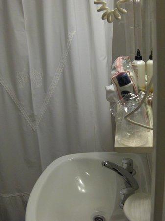 Kapenke Hotel: baño en correcto funcionamiento