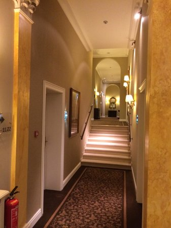 Grand Hotel Casselbergh Bruges: Le couloir du premier étage