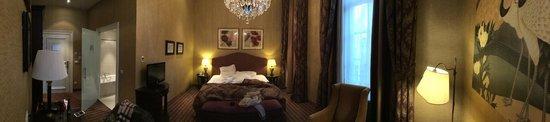 Grand Hotel Casselbergh Bruges: Le lit