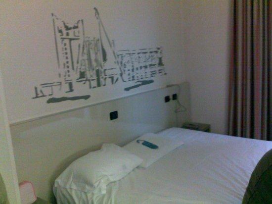 B&B Hotel Firenze Nuovo Palazzo di Giustizia: letto