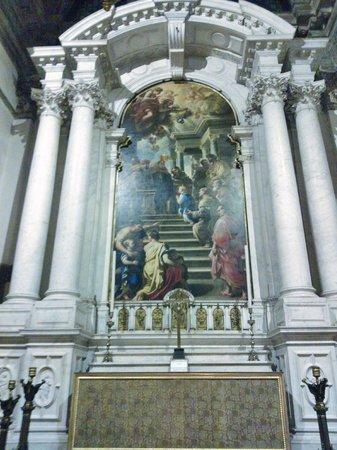 Basilica di Santa Maria della Salute: Opere maestose