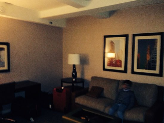 Shelburne NYC–an Affinia hotel: Suite room